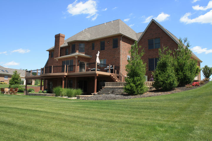Red Brick Home   Hermiller Construction