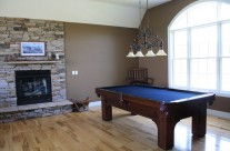 Fireplace Billiards Table